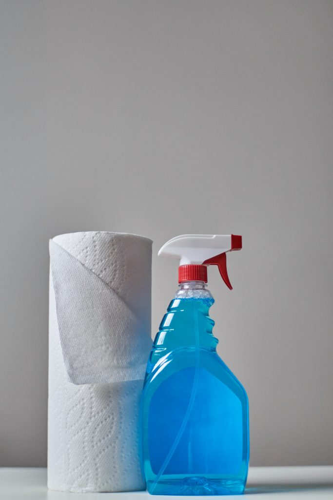Cleaning product and kitchen towel