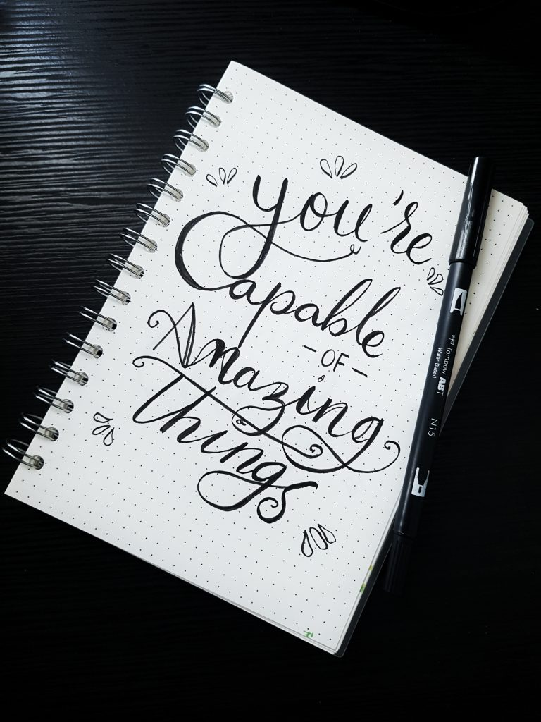 quote saying you are capable of amazing things