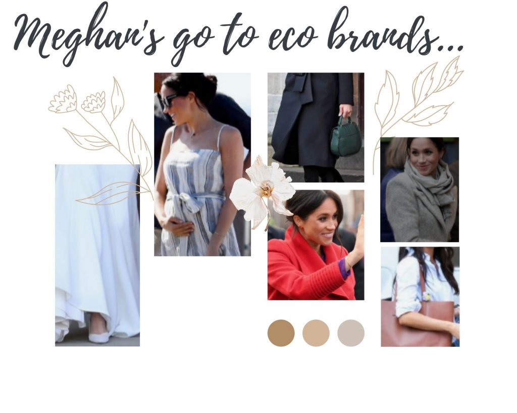 Pink-and-Brown-Soft-and-Dainty-Fashion-Moodboard-Photo-Collage-for-Meghan-Markle-outfits
